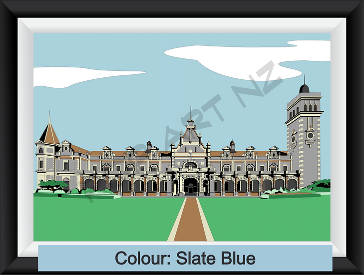 Limited Edition Dunedin Railway Station - various colours