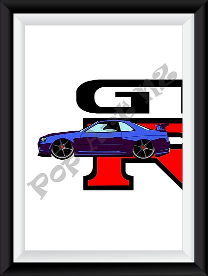 Limited edition GTR - Slate Violet