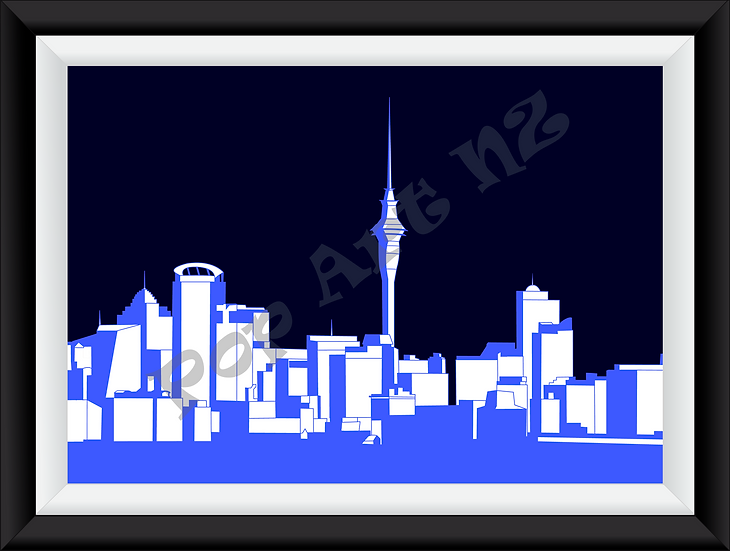 Limited Edition Auckland City - Electric Night