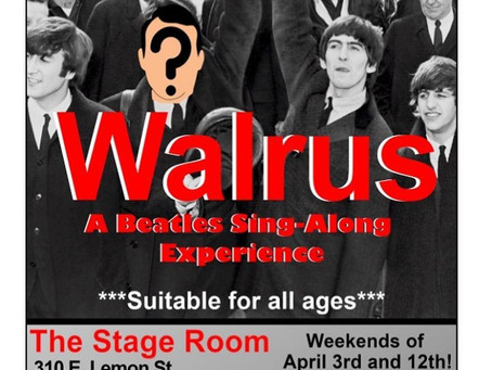 """Walrus"" Postponed Due to COVID-19 Restrictions"