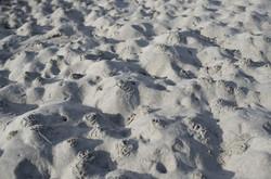 Detail de sable