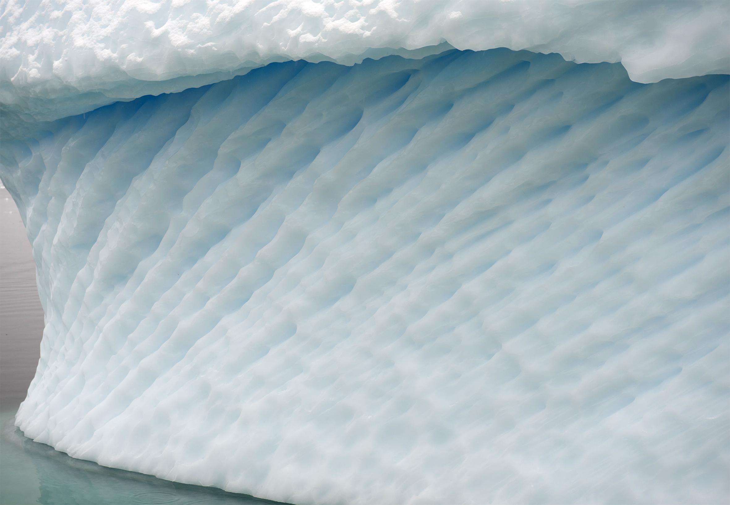 Detail iceberg