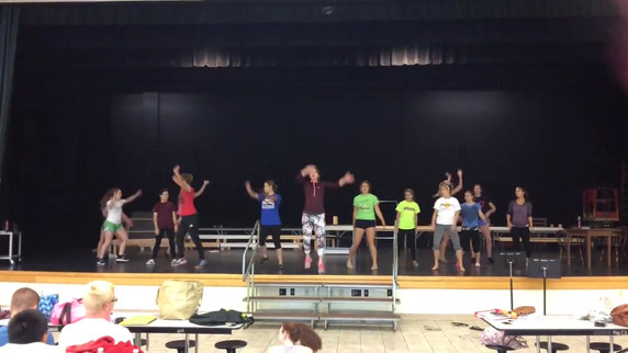 Footloose Rehearsal