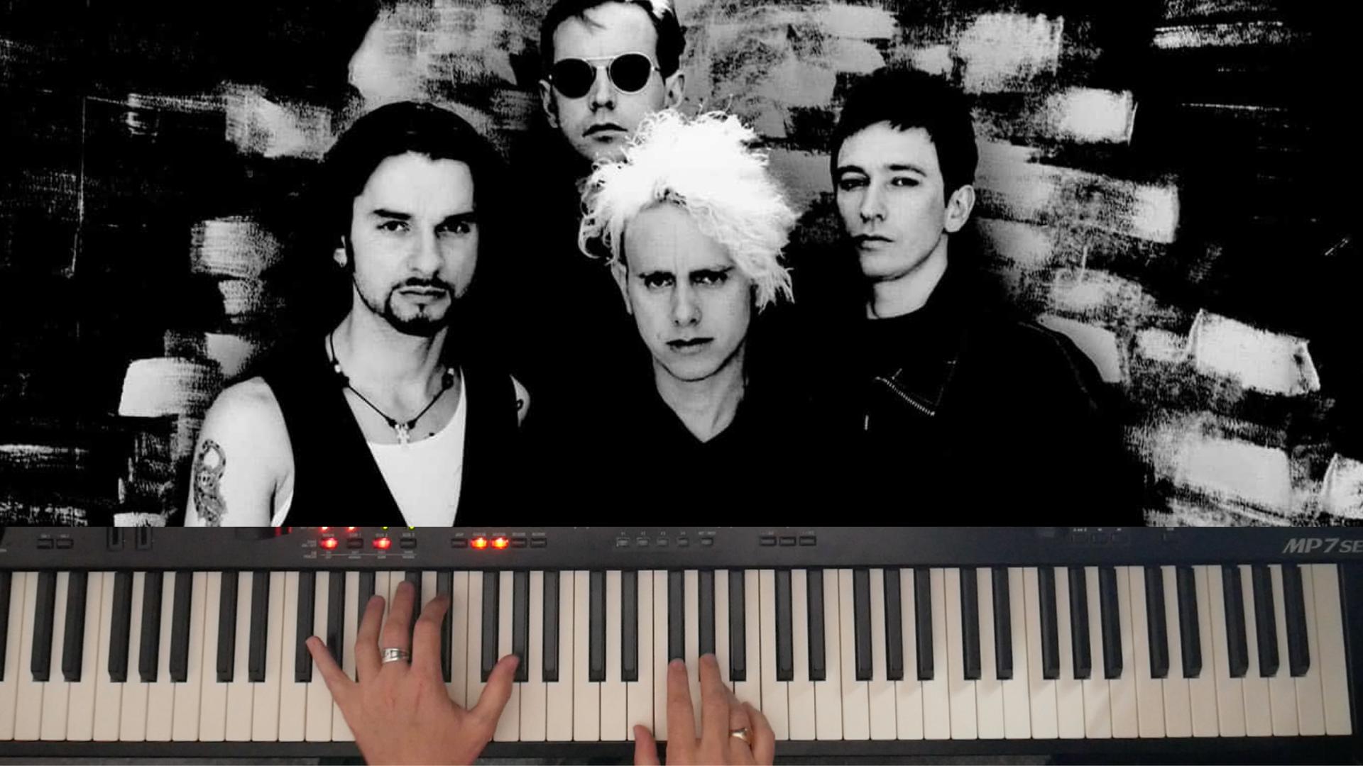 Depeche Mode Piano Lesson