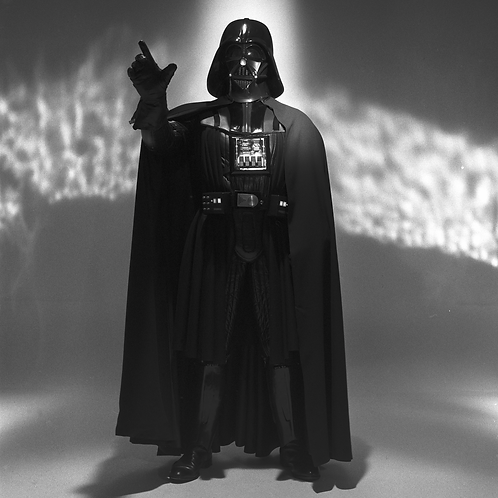 Darth Vader (black & white)