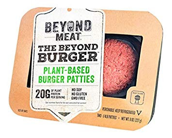 Product review: Beyond Meat burger pattie