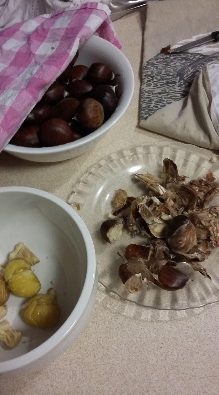 prepare chestnuts