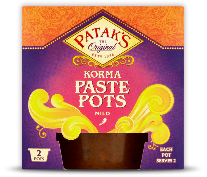 Product Review: Patak's Korma Paste in Pots