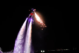 Fire Flyboard Night Show