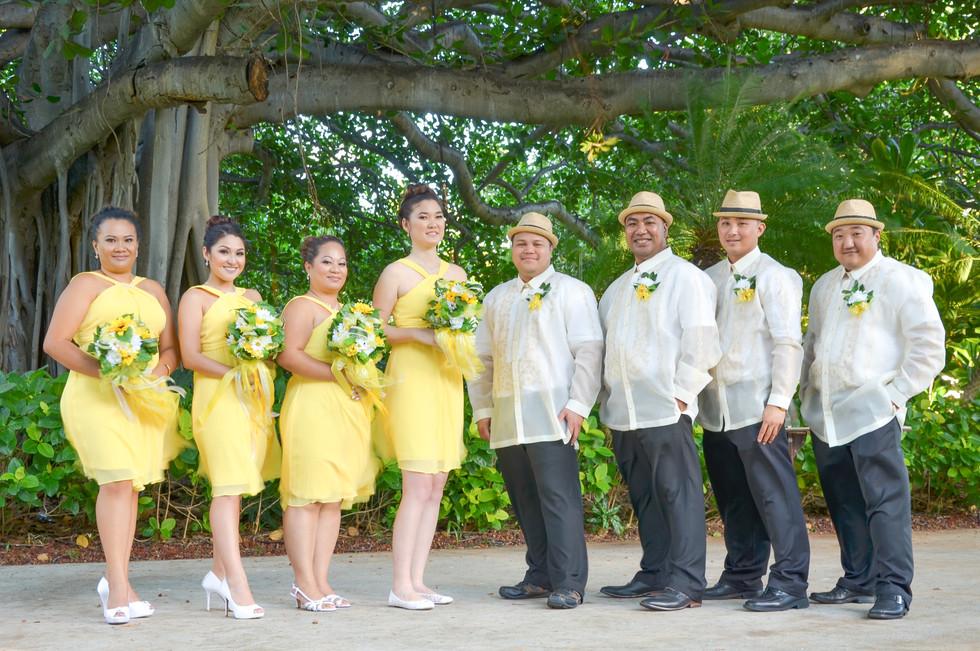 Meet The Bridesmaids & The Groomsmen