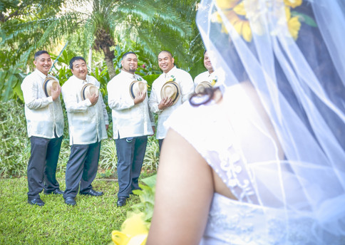 The Bride & The Groomsmen