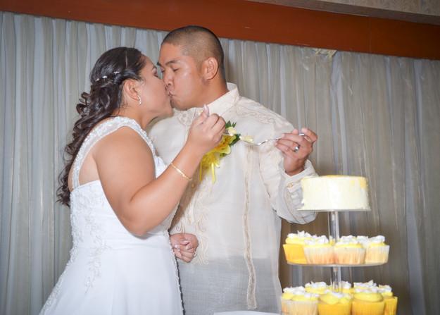 Wedding Cake Eating
