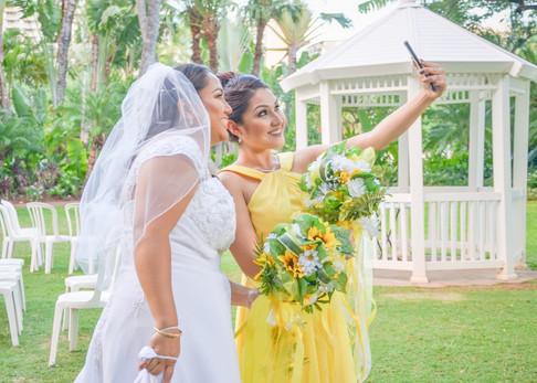 Bride & Her Bridesmaid