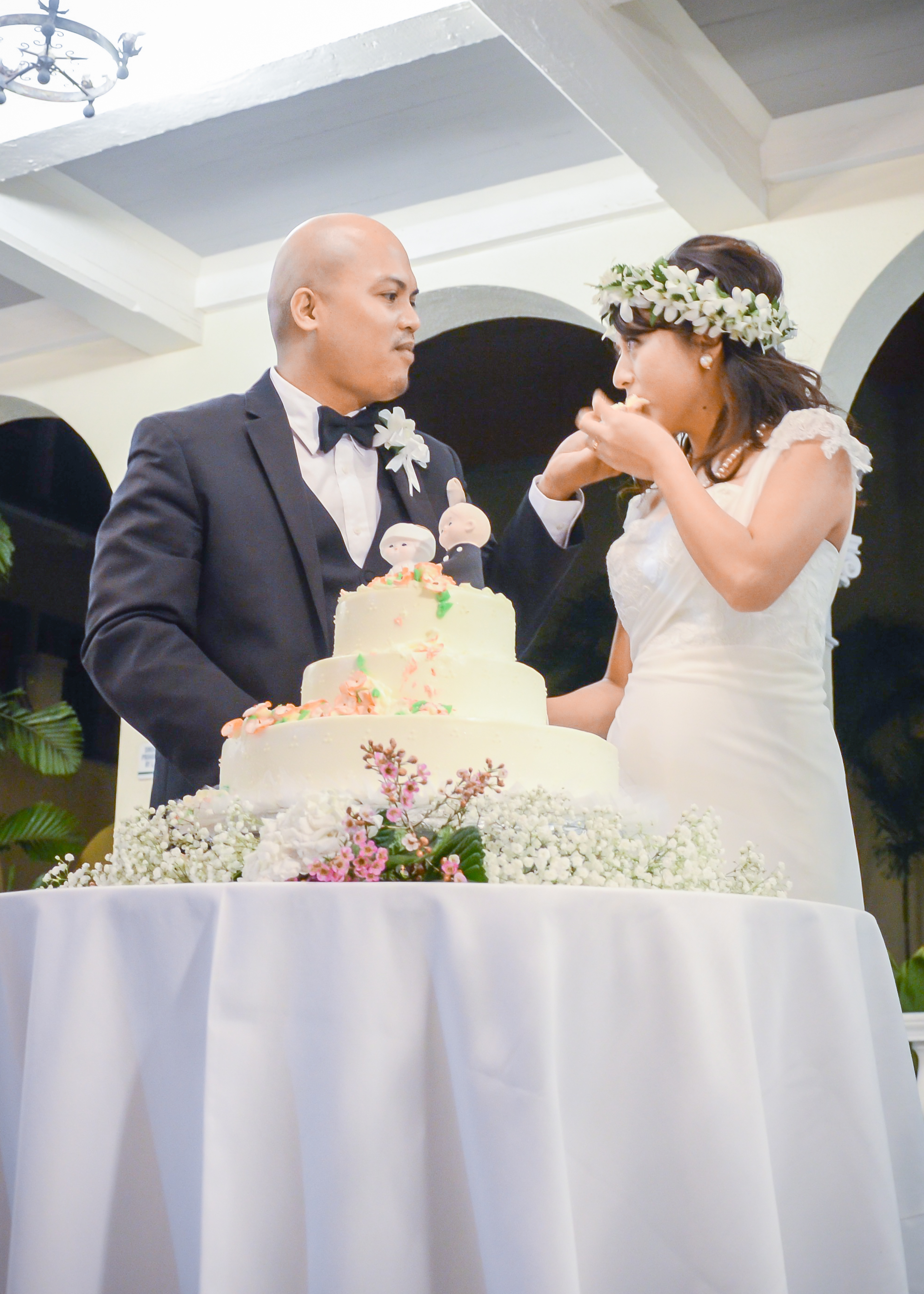 Wedding Cake Ceremony