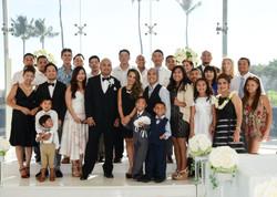 Wedding Couple's Family