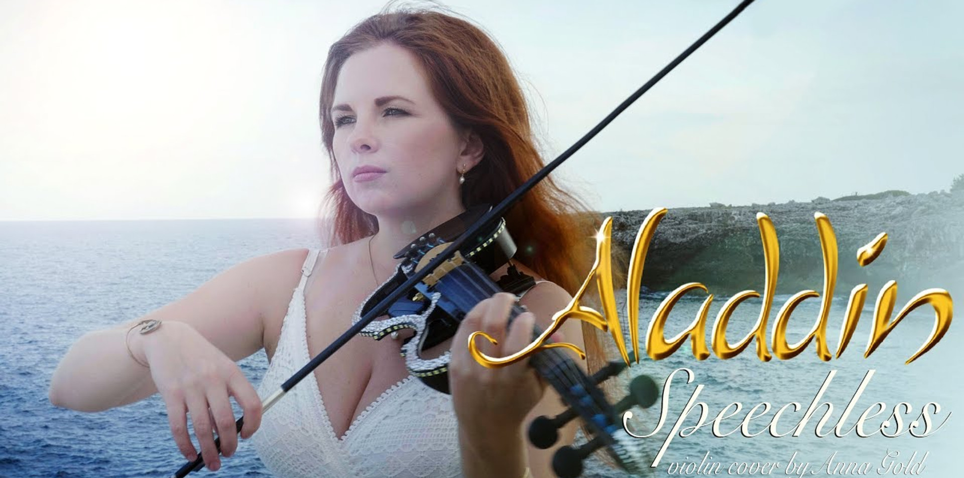 Speechless from Aladdin, Disney - violin cover by Violinist Anna Gold