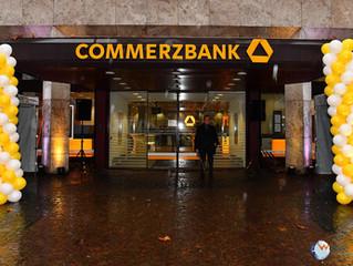 Eröffnung einer neuen Flagship-Filiale von Commerzbank in Wiesbaden