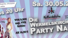 Die Wermelskirchener Party Nacht mit Violin Show Laruan