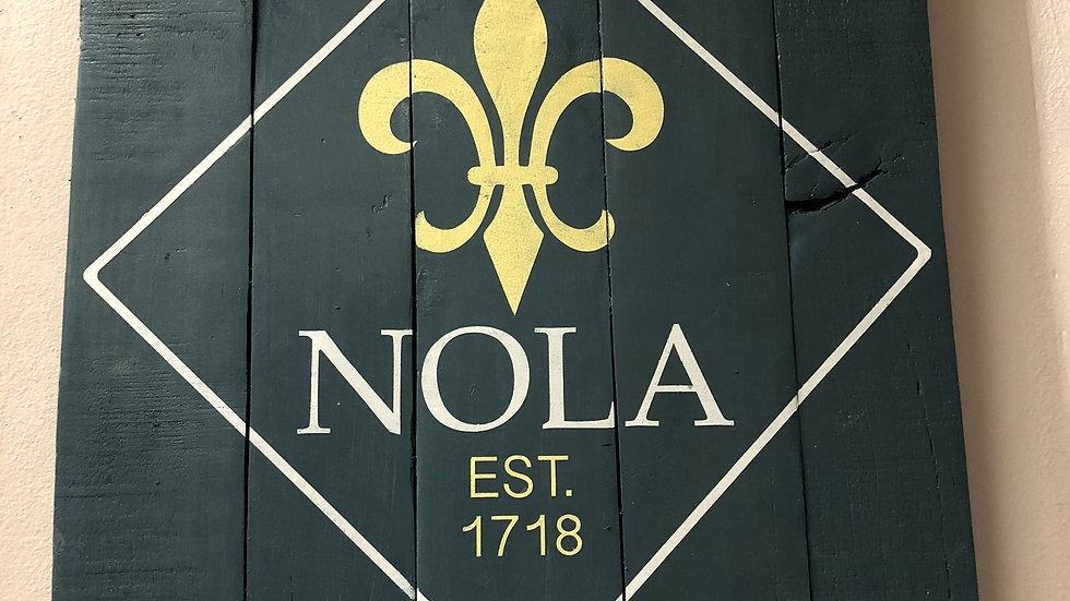 NOLA Est 1718