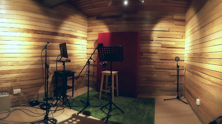 Qactus Studio Recording Room