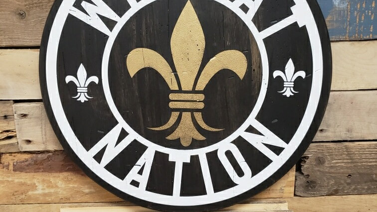 """WHO DAT NATION LIMITED EDITION 18"""" ROUND 3"""