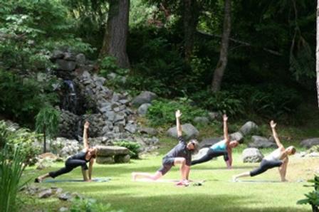 guests enjoying yoga at waterfall.png