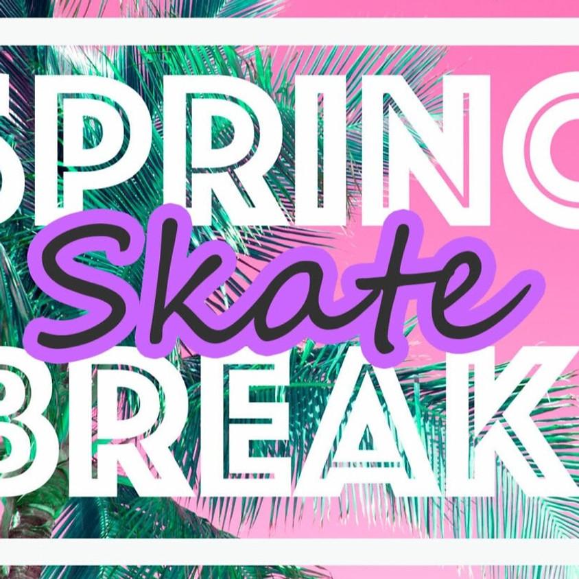 Tuesday Spring Break Skate 12:30pm-3:00pm