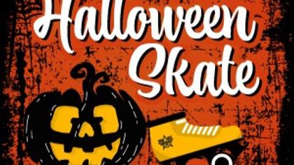 Sunday October 31st HALLOWEEN Skate 12:30pm-4:00pm