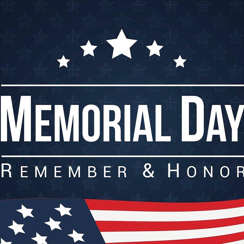 Memorial Day  Skate 12:30pm-3:00pm
