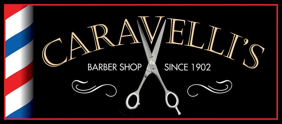 Logo & Barber Pole Header Crop New Tall