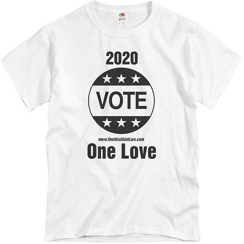 2020 Vote One Love Tee