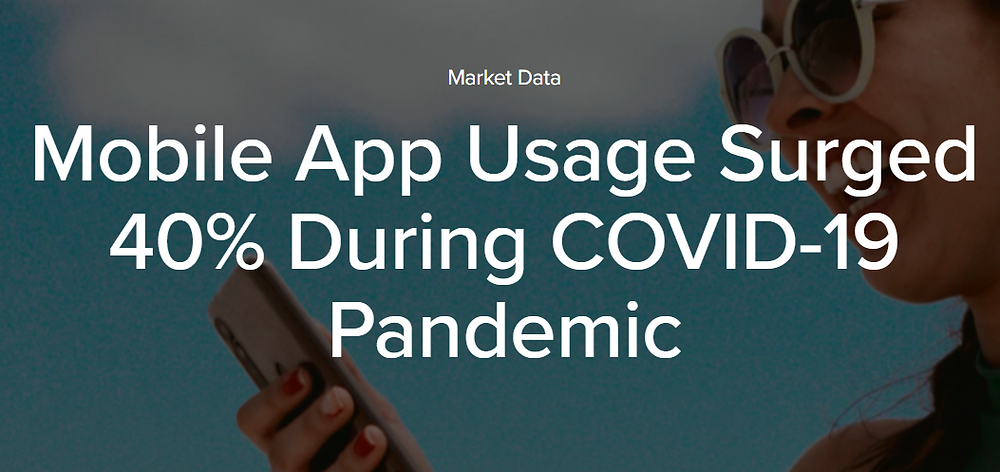 playizzon blog mobile app usage covid-19