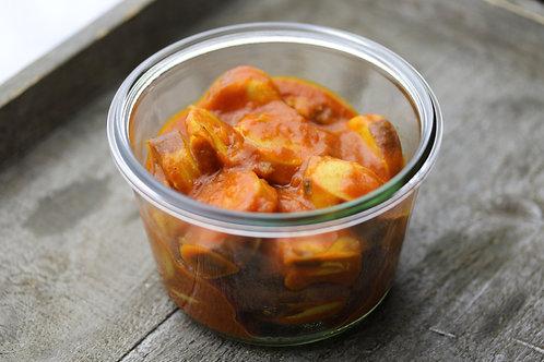 Currywurst mit Currysauce