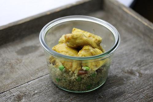Masala Poulet mit Quinoa