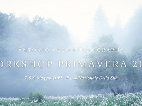 Workshop Primavera 2021 - Parco Nazionale della Sila