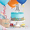 Thumbnail: Self Inflating First Birthday Cake Topper