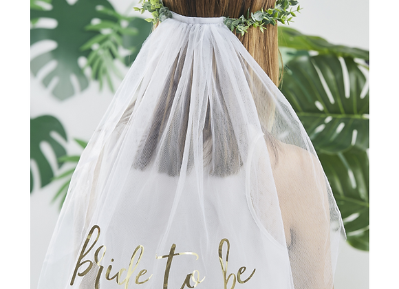 Bride To Be Hen Party Veil