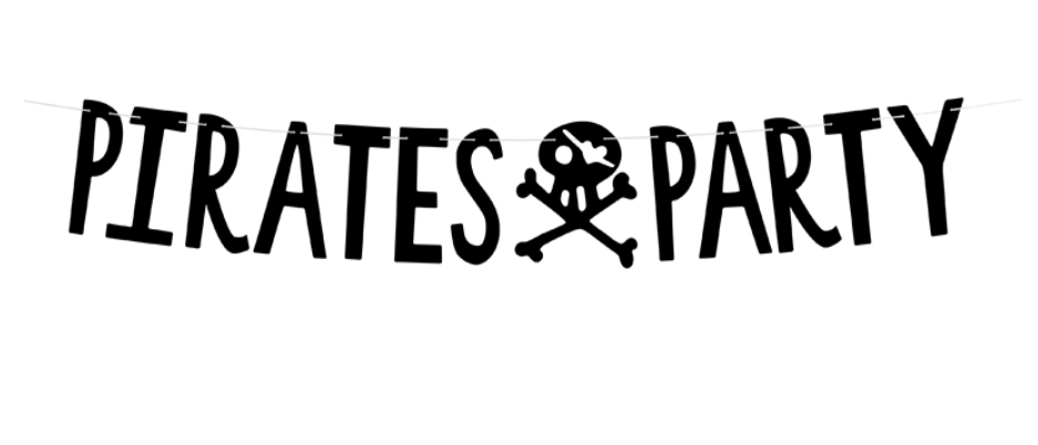 Pirate Party Garland Kit