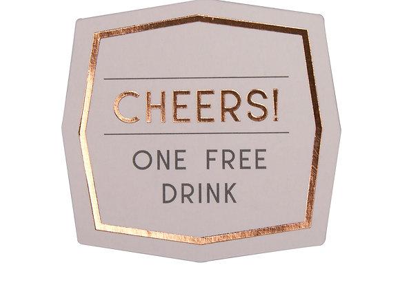 Wedding Guest Drink Tokens