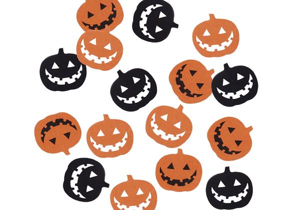 Pumpkin Shaped Confetti