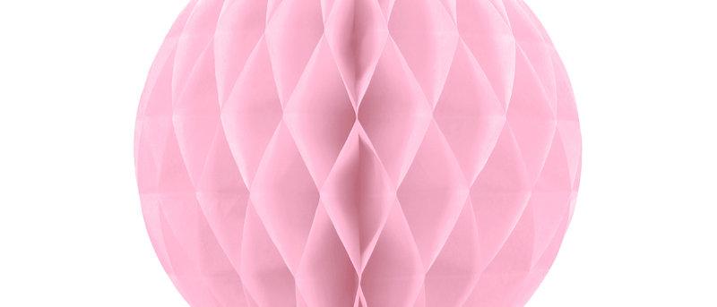 Light Pink Honeycomb Ball