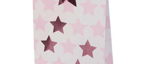 Pink Star Party Bags