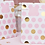 Thumbnail: Pink And Gold Party Bags (x 5)