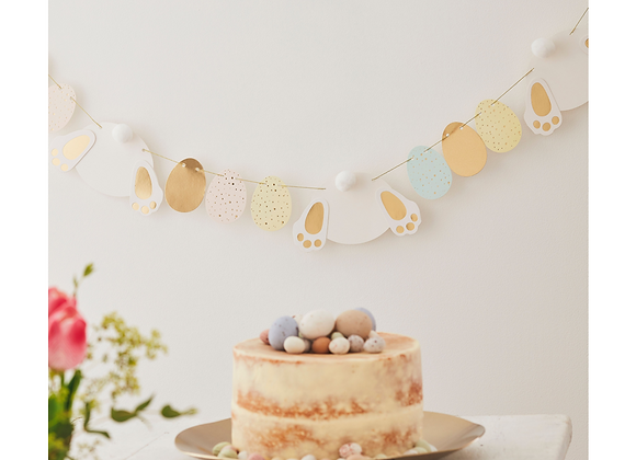 Bunny And Eggs Easter Garland