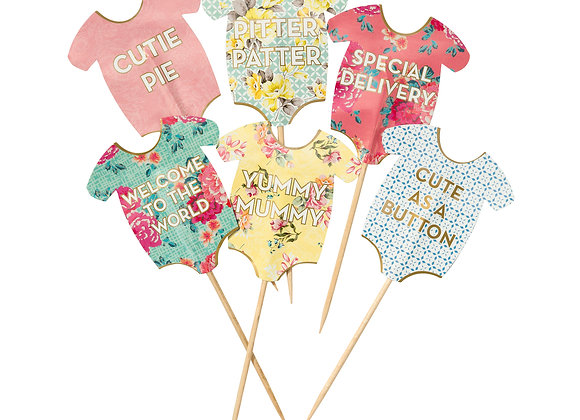 Baby Grow Cake Toppers