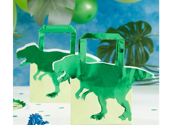 dinosaur party bags, party bags for a dinosaur themed party, dinosaur themed party, dinosaur party theme