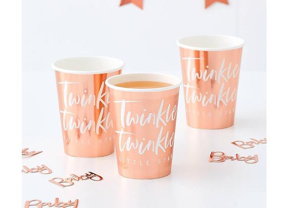 Twinkle Twinkle Cups ( x 8 )