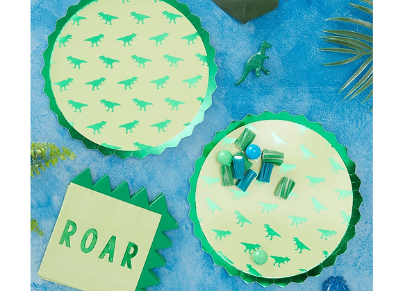 dinosaur party theme, dinosaur party plates, paper plates dinosaur party, kids dinosaur party theme, roarsome party