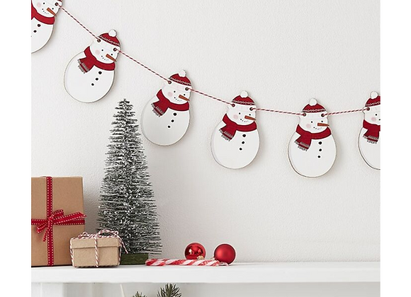 Christmas hanging decorations, snowman decoration, decorations for Christmas, wooden Christmas decorations
