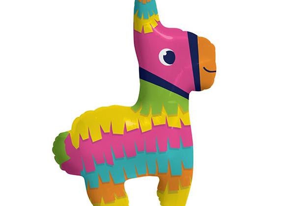 llama foil balloon, rainbow balloon, rainbow llama balloon
